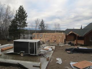 lake home construction, huisman, ely, mn