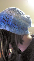 Slouchy Fishtail Lace Hat