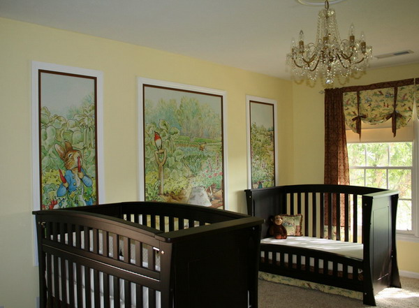 Surface pop for Beatrix potter mural wallpaper