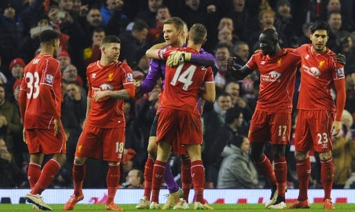 Liverpool vs. Tottenham Hotspur 3-2 Highlight Goal Premier League 10-02-2015