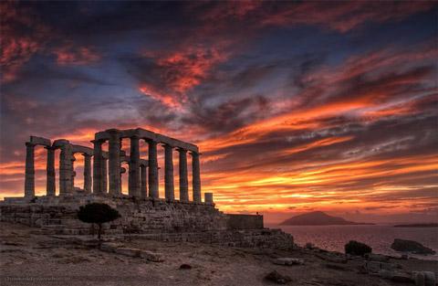 Templo de Poseidon  V aC