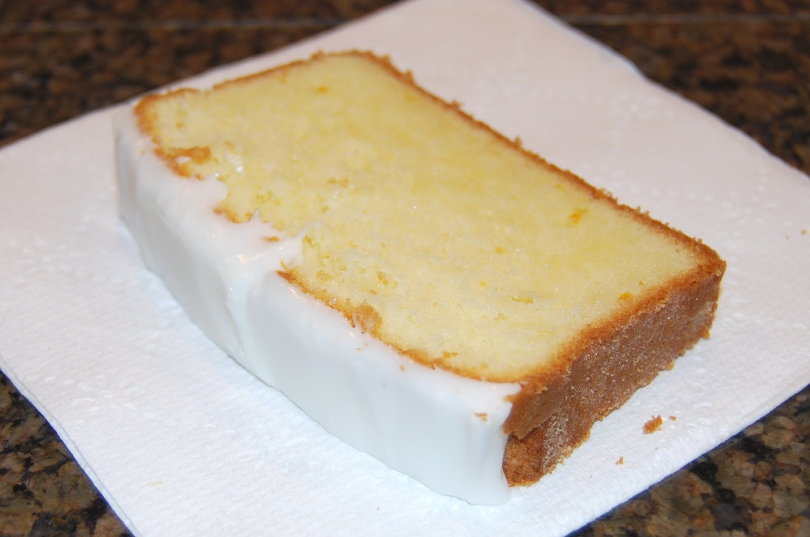 Valerie's Patch-Work: Iced Lemon Pound Cake