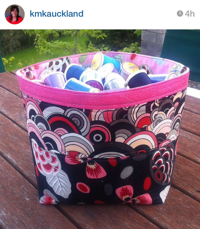 3rd Floor Basket - Made by Karina @kmkauckland // Pattern by Kristy Daum