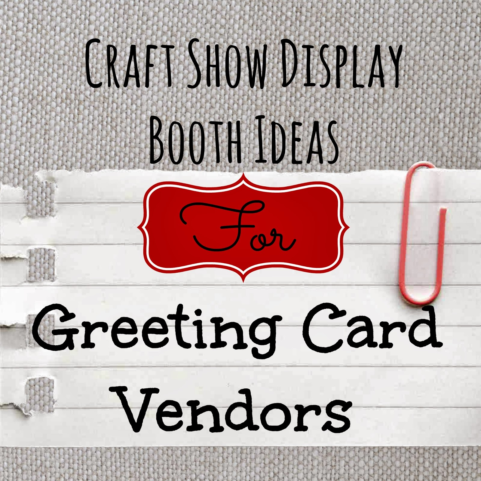 Sussex circle paperworks craft show display ideas for for Image craft greeting cards