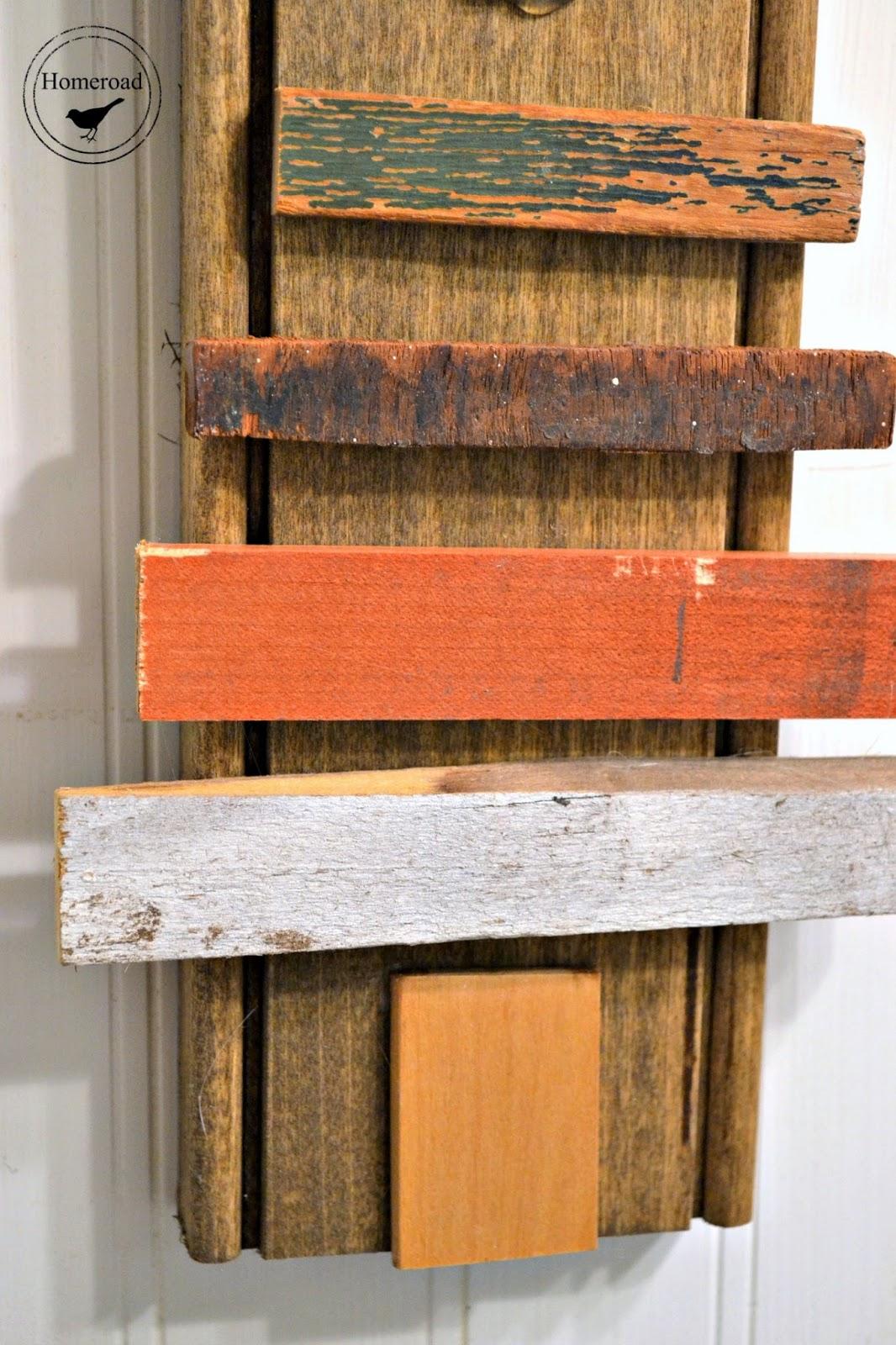 scrap wood christmas tree www.homeroad.net