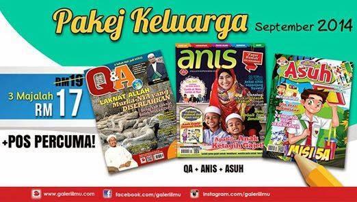 Majalah Asuh Beli 3 Buah Majalah Hanya RM17 Pos Percuma