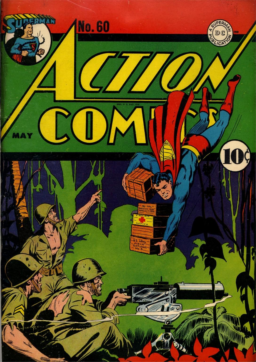 Action Comics (1938) 60 Page 1