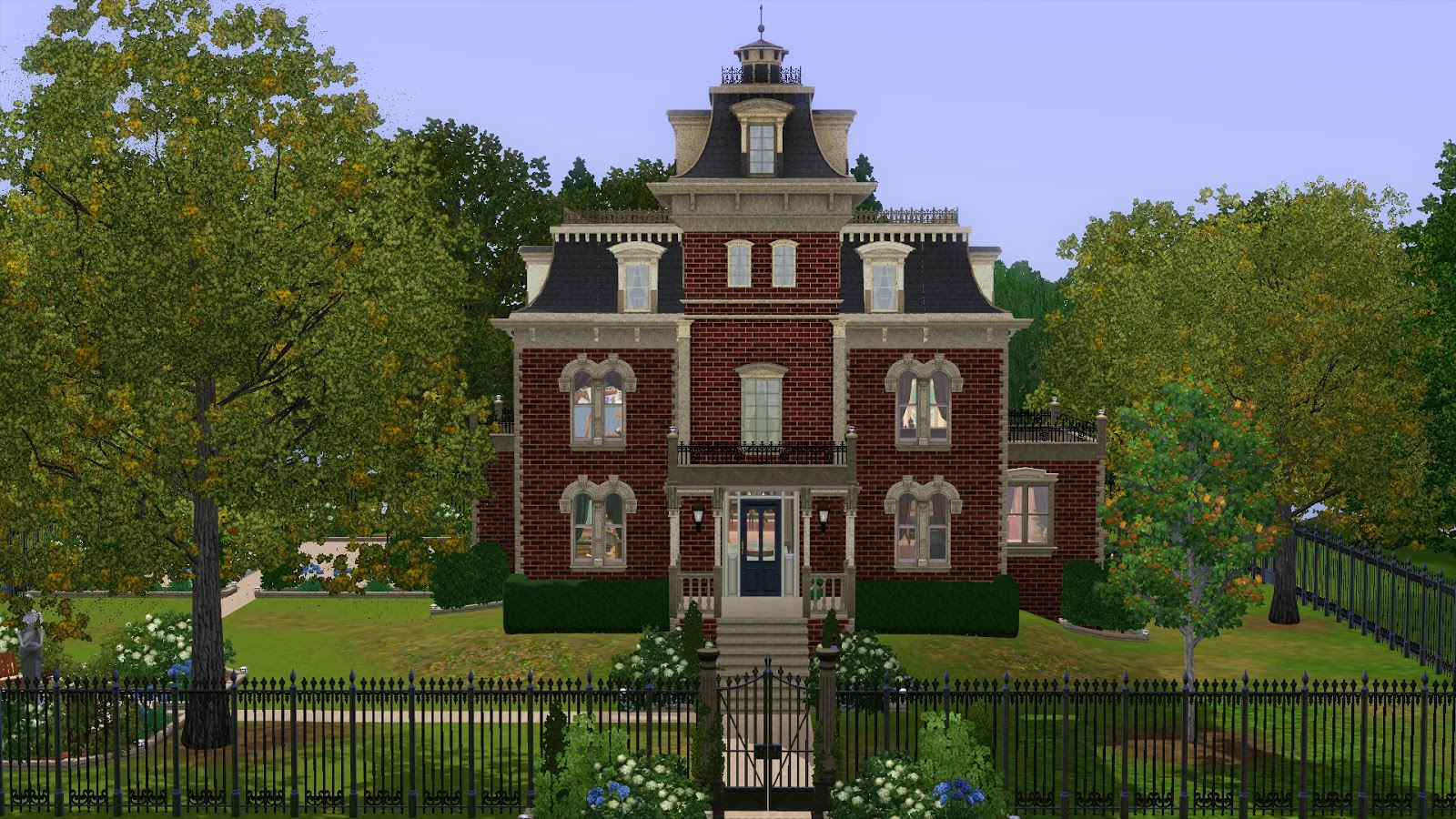 My Sims 3 Blog: Second Empire Victorian by Ruth Kay