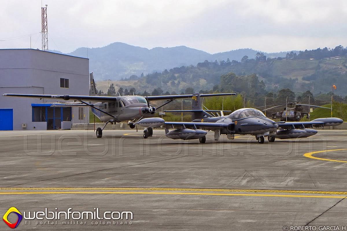 a-37 dragonfly fuerza aerea colombiana