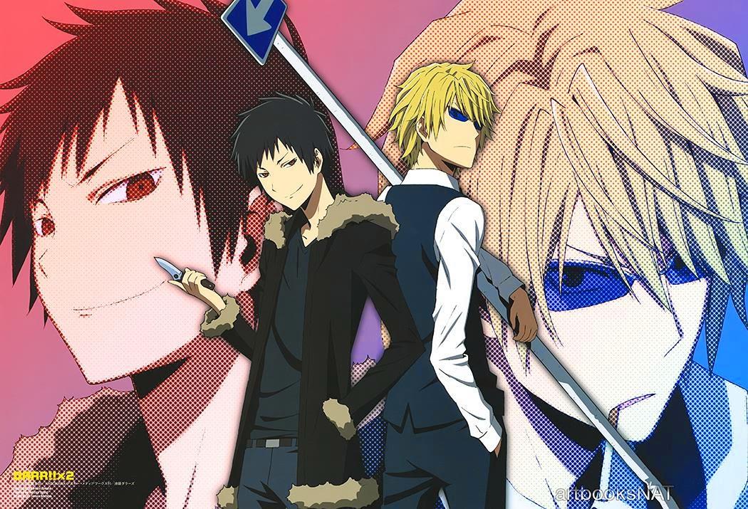 Anime Action Badass Terbaik Revelados Seis Nuevos Miembros Del Cast Durarara