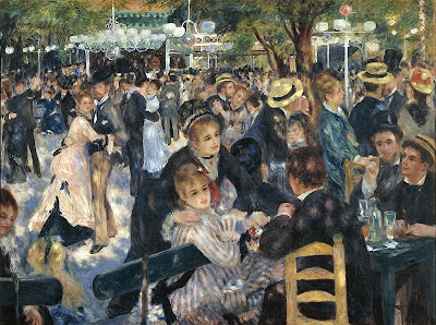 """Dance at Le Moulin de la Galette"" by Pierre Auguste Renoir (141.5 Million)"