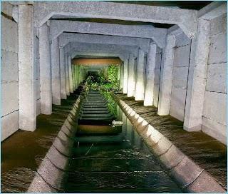 Terowongan air bawah tanah di jepang