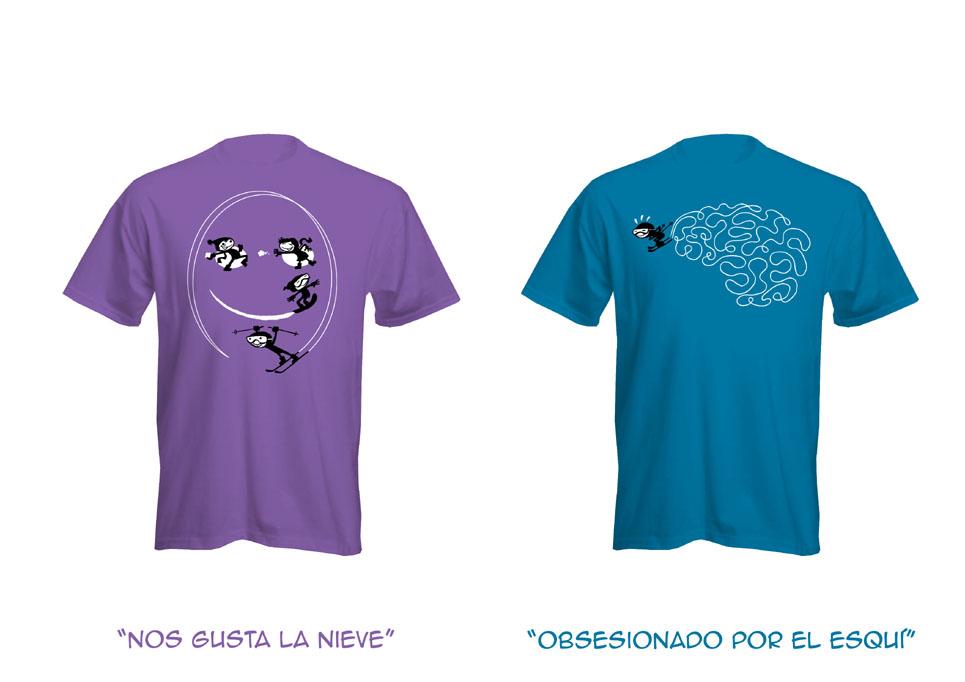 nacho de marcos diseños e ilustraciones camisetas pirineos