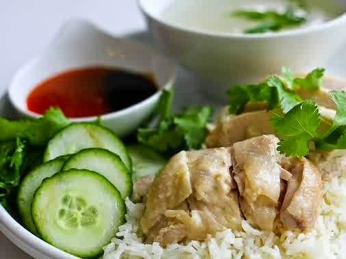Nasi Ayam Hainan