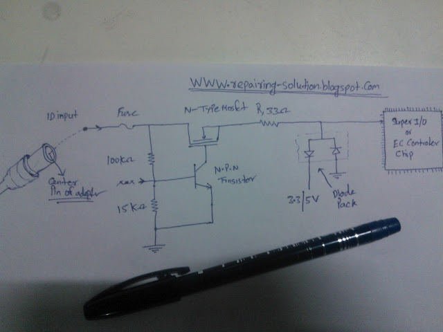 dell laptop power supply schematic  | repairing-solution.blogspot.com