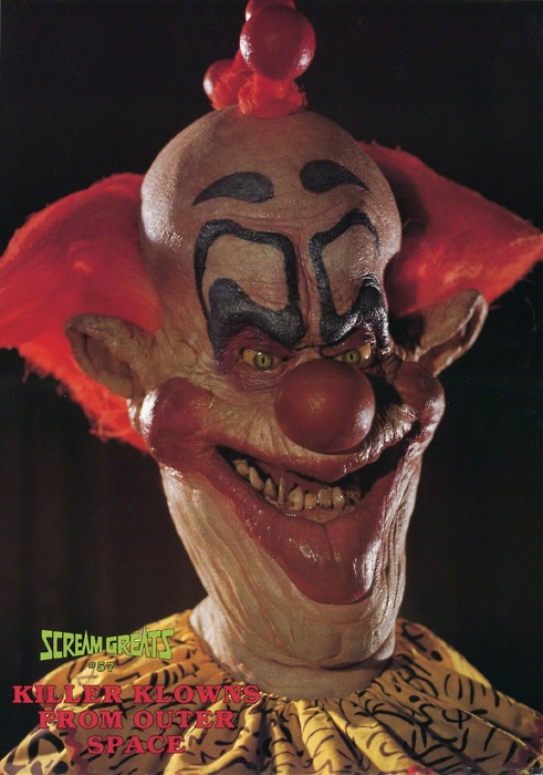 Head research august 2012 for Killer klowns from outer space