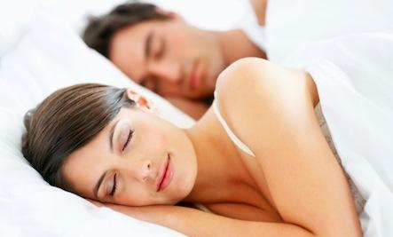 Relationship Reboot: 3 Ways to Sleep Together Better - man woman sleeping bed together