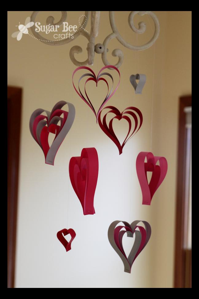 Paper Strip Hearts Sugar Bee Crafts