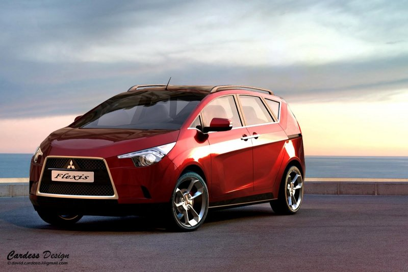 Concept Mitsubishi Flexis 2011