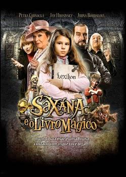 Filme Saxána E O Livro Mágico Dublado AVI DVDRip