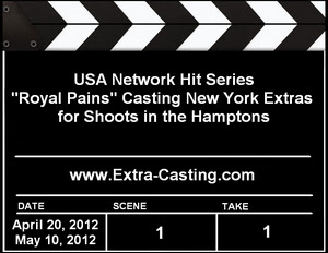 USA Network New York Extras Casting Call
