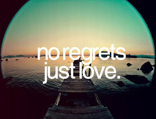 Another story...: No regrets. Just Love.