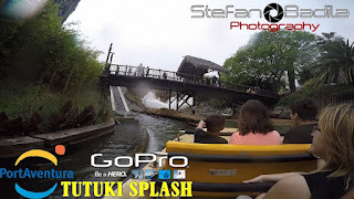 Tutuki Splash Ride | PortAventura 2015 - GoPro Hero 4 Silver Edition