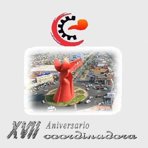 FELICIDADES A LA COORDINADORA DE MERCADOS  DEL VALLE DE MÉXICO POR SU XVII ANIVERSARIO