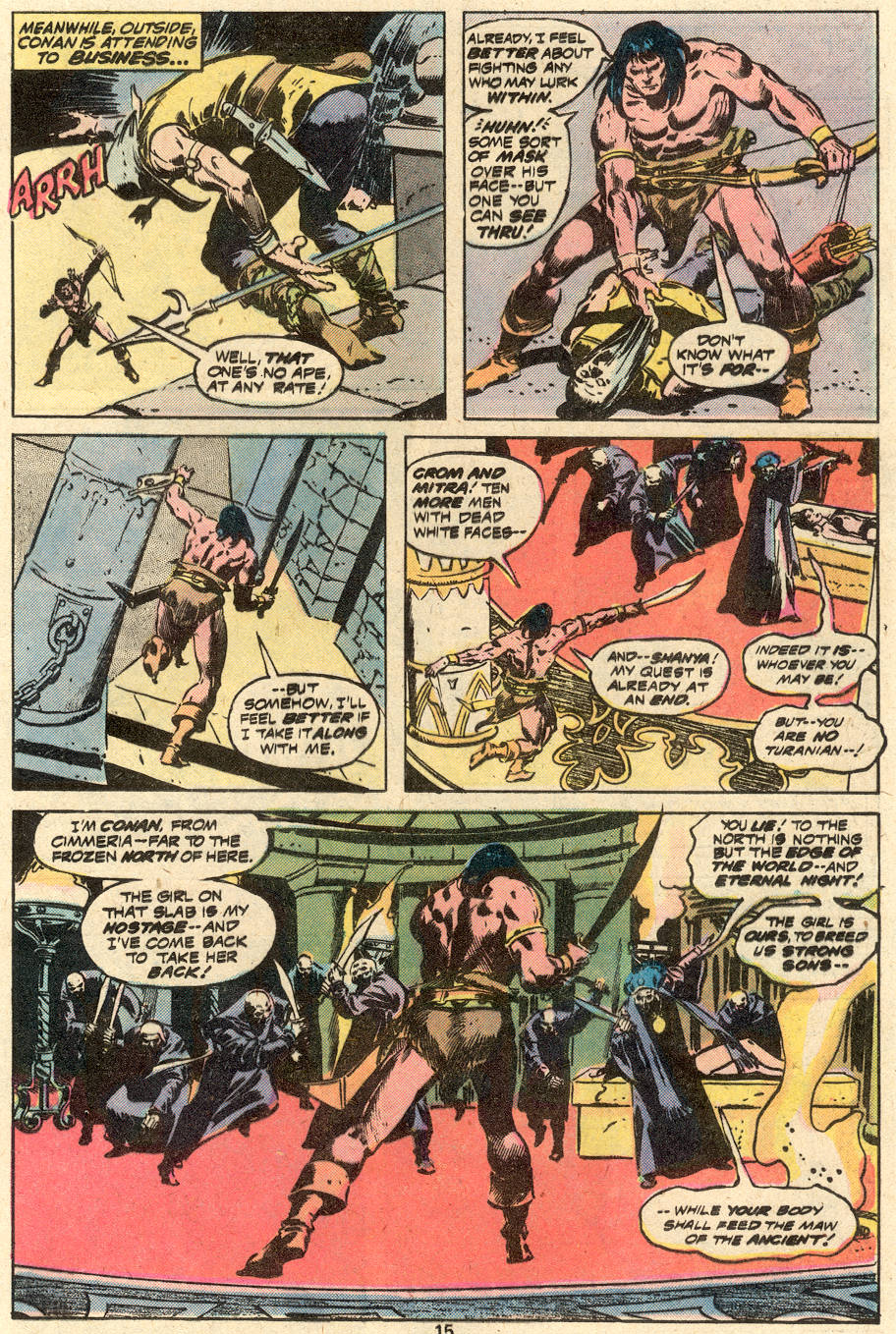 Conan the Barbarian (1970) Issue #87 #99 - English 10
