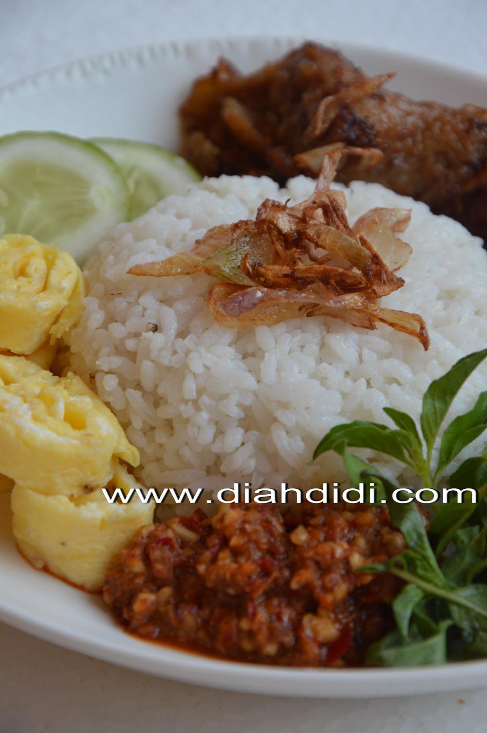 Diah Didi S Kitchen Bikin Nasi Uduk Sendiri Lebih Enak