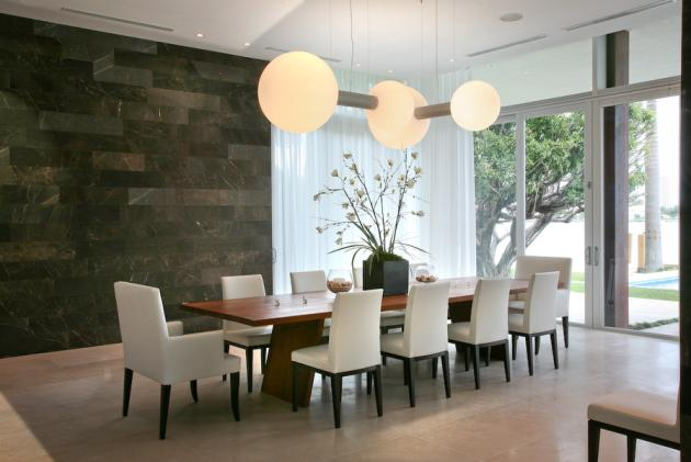 Dining Room In The Modern Villa By Touzet Studio