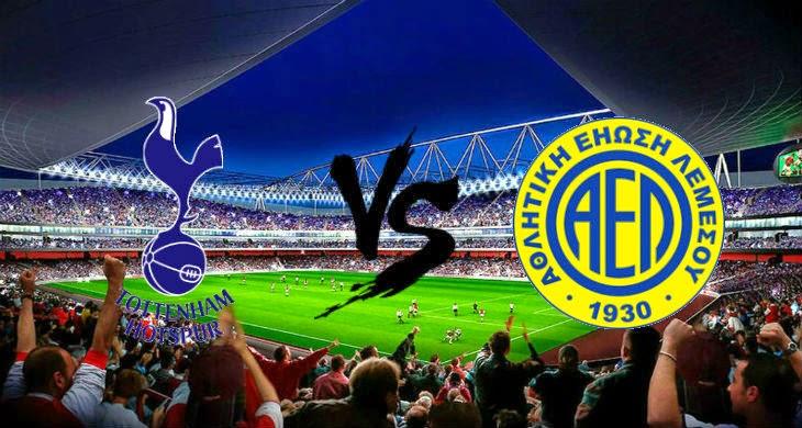 Prediksi Bola Tottenham Hotspur vs AEL 29 Agustus 2014