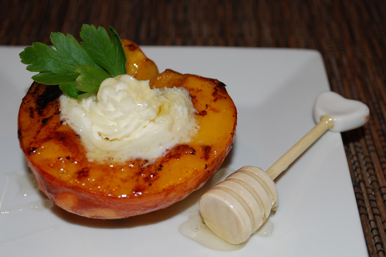 Cheese Please: Grilled Rum Peaches with Mascarpone Cheese & Orange ...