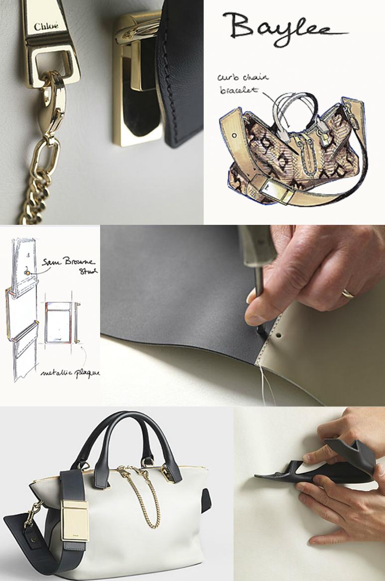 Making of the Chloe's Baylee bag