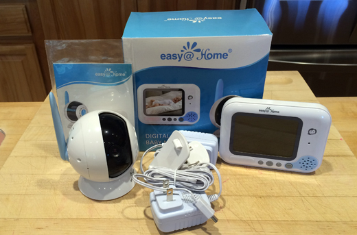 Easy@Home Wireless Digital Video Baby Monitor #EZBabyMonitor