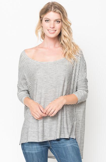 Asymmetric tunic