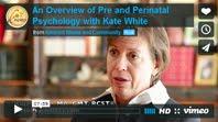 Una visión global de la Psicología Prenatal y Perinatal, por Kate White: