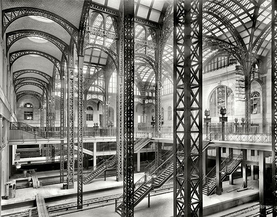 23 black and white photos of new york city in the 1910s vintage everyday for New york life building interior
