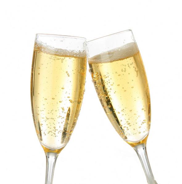 Na zdrowie szampan!