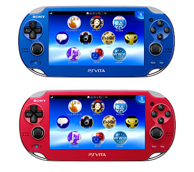 New PS Vita Colors