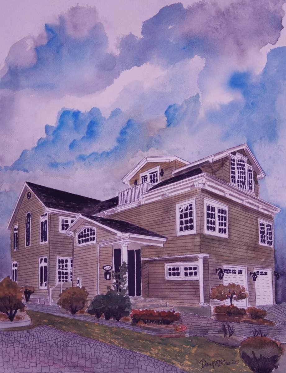 Watercolor Paintings - Art by Derek McCrea: November 2013