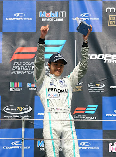 Jazeman Jaafar wins at Biritsh F3 Rockingham Circuit