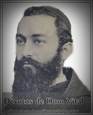Devotos de Dom Vital no Facebook.