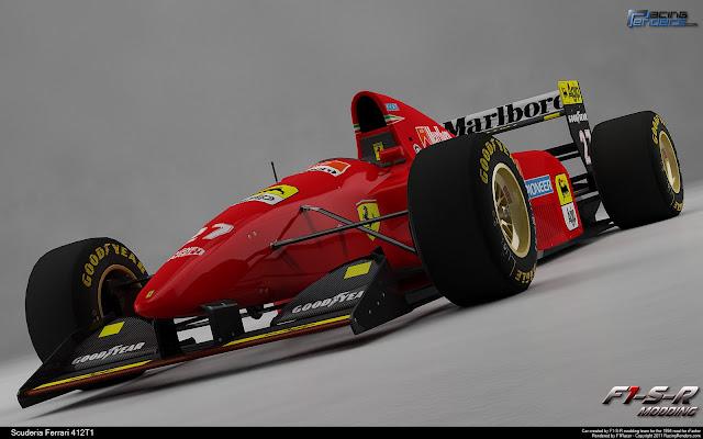 Render F1 Ferrari 1994 rFactor en Racing Render