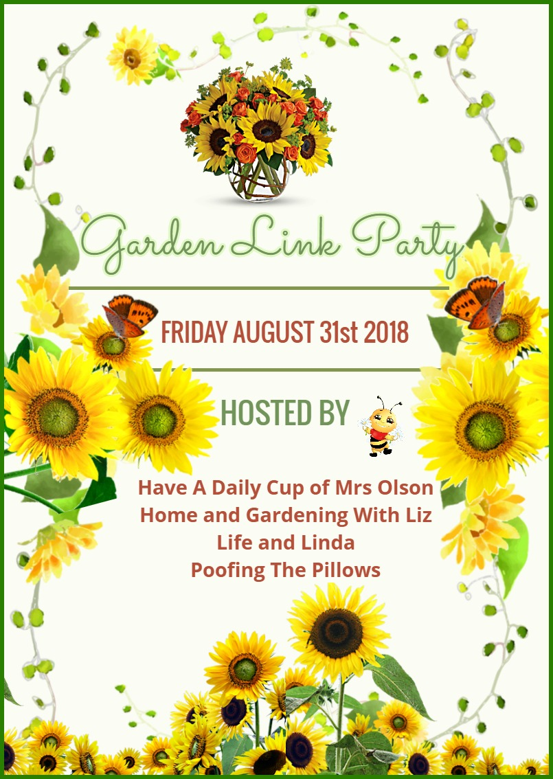 Won't you join us for our last Garden Link party of the season?