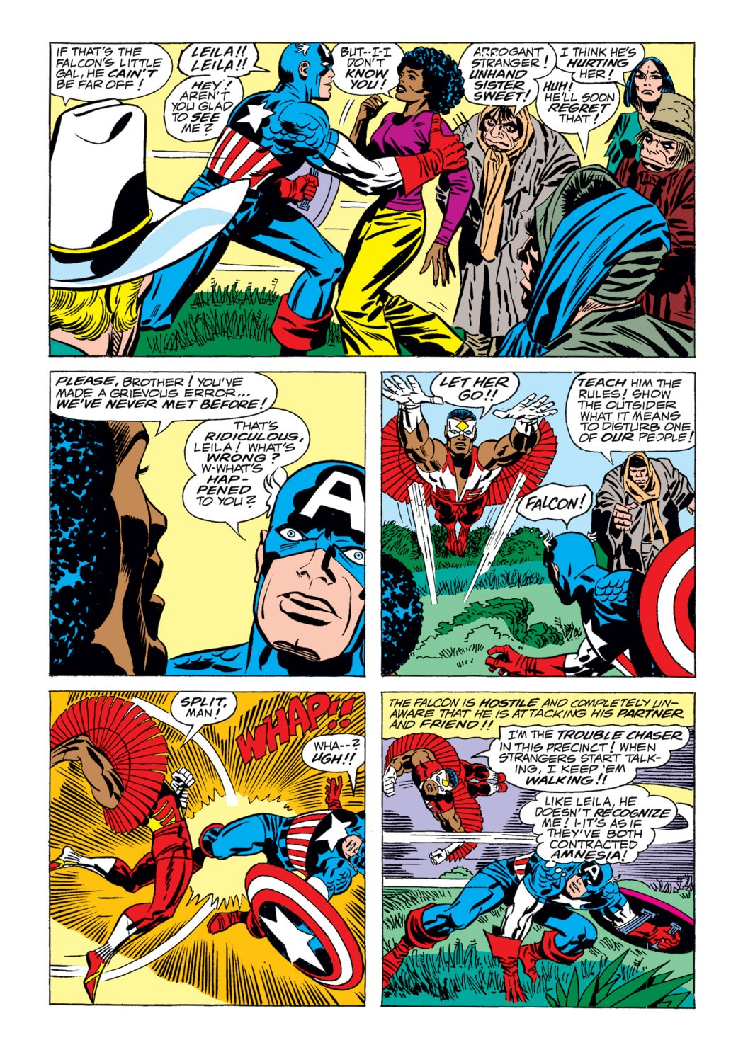 Captain America (1968) Issue #203 #117 - English 6