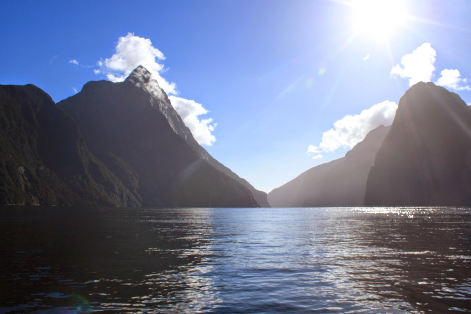 Same damn photo of Milford Sound. Hills and water.