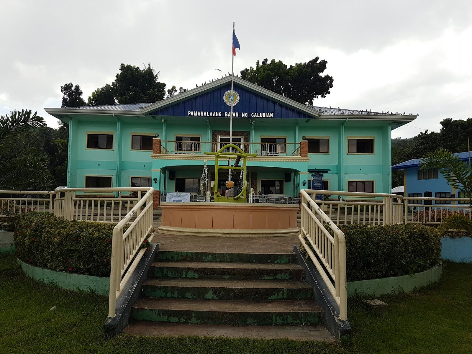 THE NEWLY UPGRADED MUNICIPAL HALL