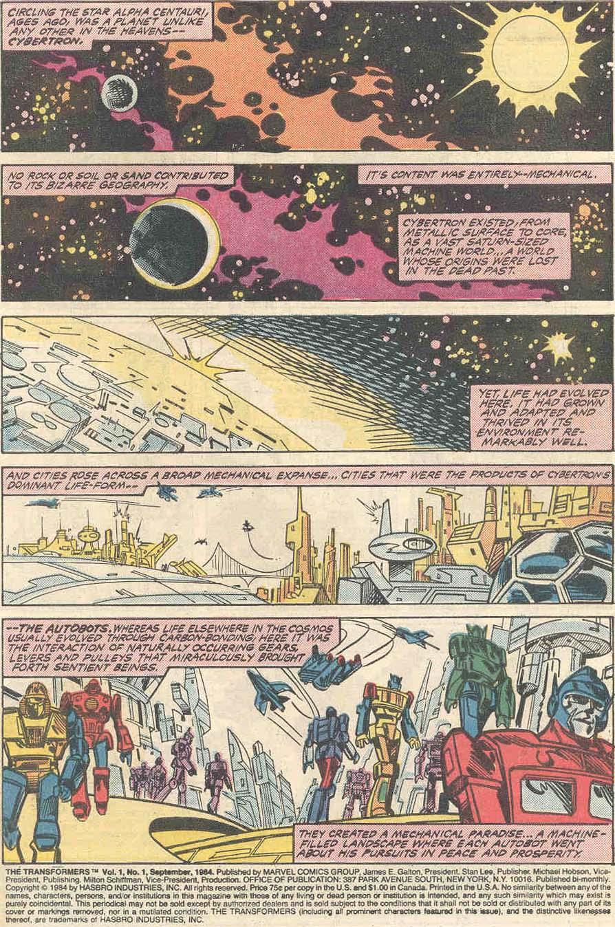 The Transformers (1984) #1 #80 - English 2