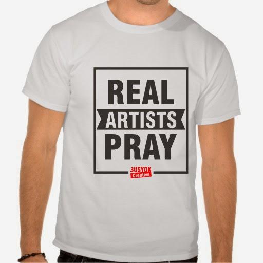 real artist pray